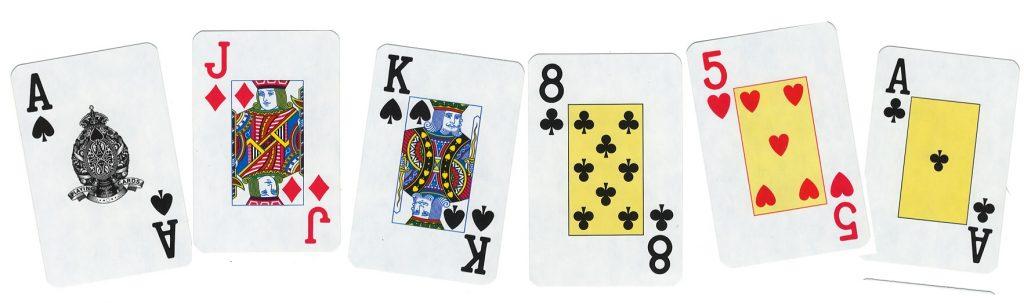 Obrázek karet ke hře Whist