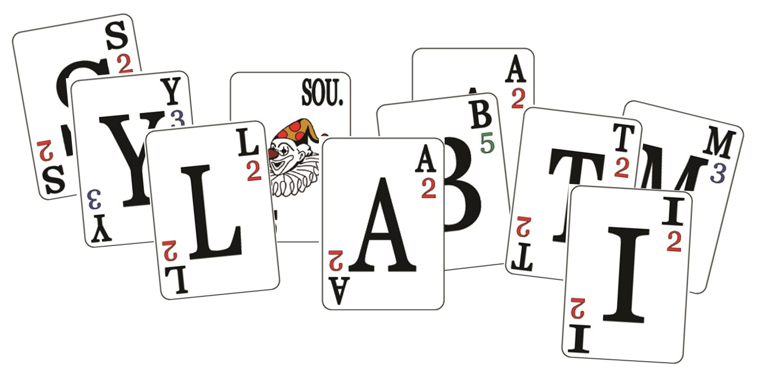 Obrázek karet ke hře Syllabatim