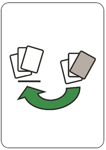Vezmi soupeři kartu - přesouvající se karty