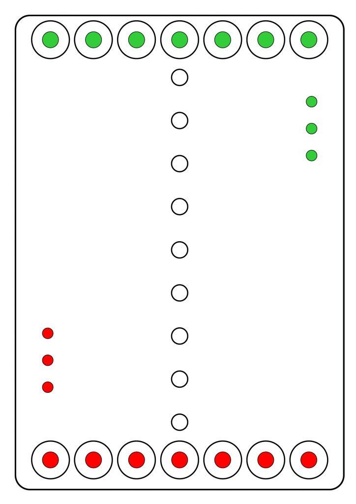 deska základní postavení