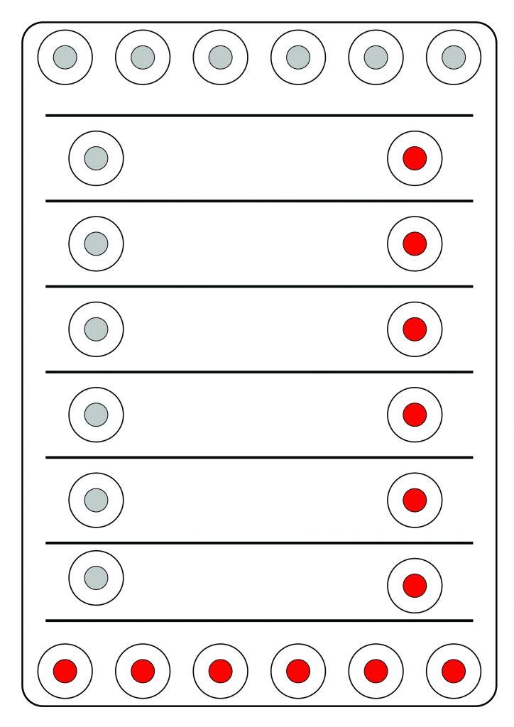 deska Linja základní postavení