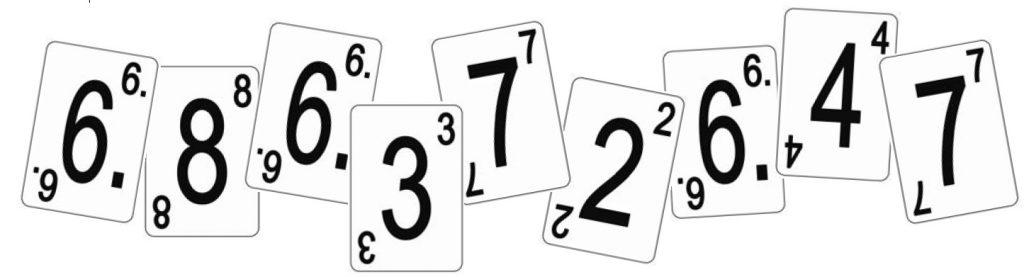 Obrázky karet pro hru Numeramis