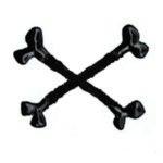 Symbol - zkřížené hnáty
