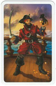 Pirátská dvojitá síla - obrázek piráta