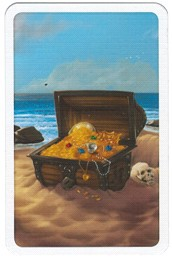 Ostrov pokladů - obrázek truhly